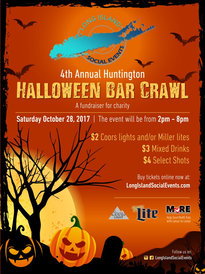 Huntington Halloween Bar Crawl 2017 Tickets, Sat, Oct 28, 2017 at ...