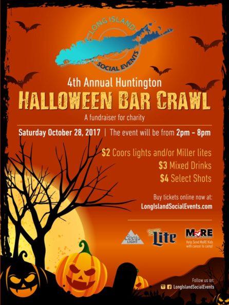 Huntington Halloween Bar Crawl 10/28/17