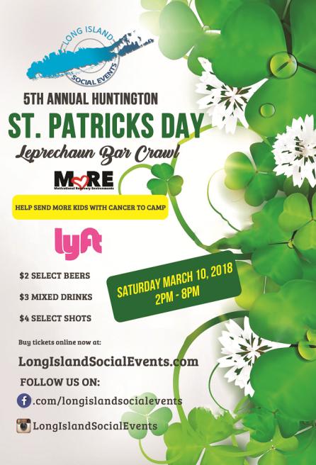 St Patricks Day Bar Crawl Huntington