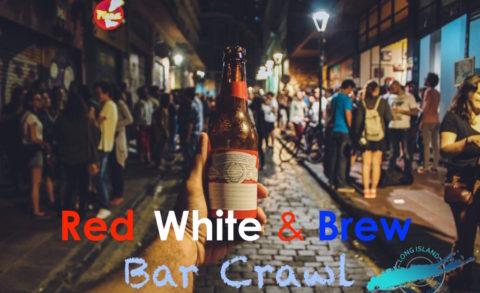 Red White & Brew Bar Crawl